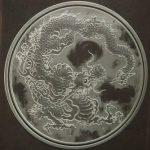 龍柄 彫刻
